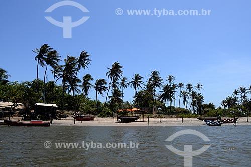 Assunto: Barcos de pesca no rio Preguiças / Local: Barreirinhas - Maranhão (MA) - Brasil / Data: 10/2012