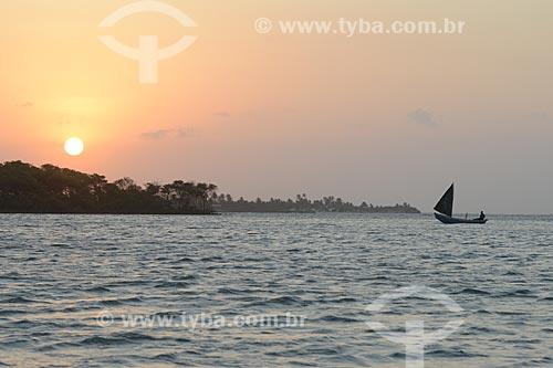 Assunto: Pôr do sol no rio Preguiças / Local: Barreirinhas - Maranhão (MA) - Brasil / Data: 10/2012