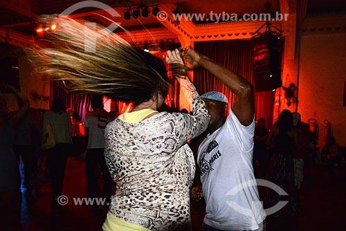 Assunto: Casal em Baile de forró que acontece as quartas-feiras, conhecido como Quarta Democrática no Clube dos Democráticos na Lapa / Local: Rio de Janeiro (RJ) - Brasil / Data: 11/2012