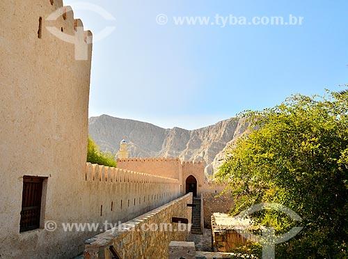 Assunto: Forte de Cassapo (1623) - fortificação erguida pelas forças portuguesas / Local: Distrito de Khasab - Musandam - Omã - Ásia / Data: 02/2011
