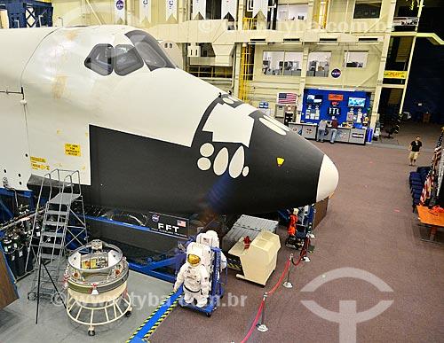 Assunto: Simulador de Missão de Transporte na Instalação de Modelo de Veículo Espacial no Centro Espacial Lyndon B. Johnson - Prédio 9 / Local: Houston - Texas - Estados Unidos da América - América do Norte / Data: 09/2011