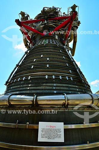 Assunto: Sistema de propulsão F-1 no Centro Espacial Lyndon B. Johnson - o maior motor de foguete de combustível já construído / Local: Houston - Texas - Estados Unidos da América - América do Norte / Data: 09/2011