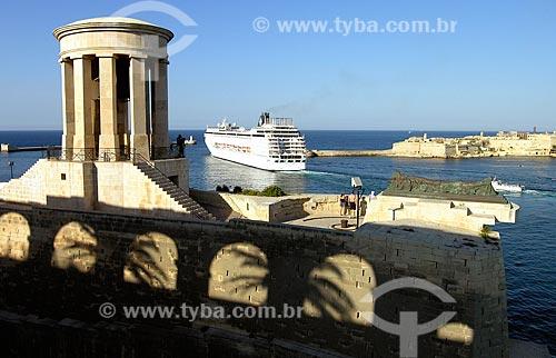 Assunto: Memorial Sino do Cerco da Segunda Guerra Mundial / Local: Valeta - República de Malta - Europa / Data: 06/2008