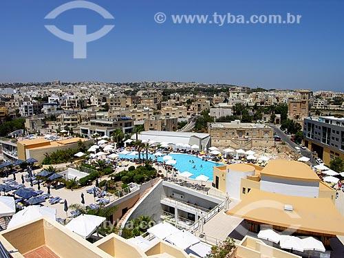 Assunto: Piscina do Hotel Intercontinental de Malta / Local: Saint Julian - República de Malta - Europa / Data: 06/2008