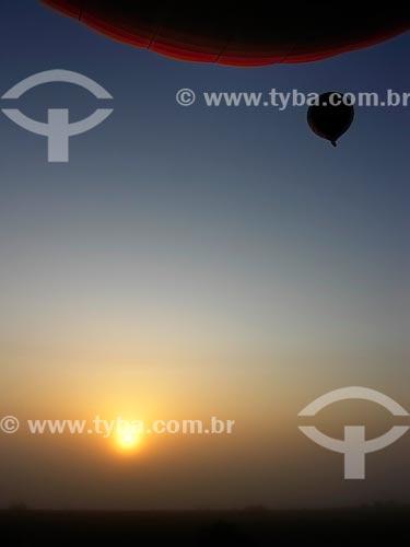 Assunto: Balões no céu de Al Ain / Local: Al Ain - Emirados Árabes Unidos - Ásia / Data: 01/2009