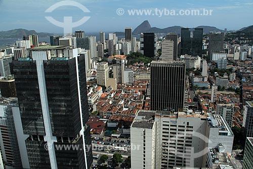 Assunto: Vista do Prédio do Banco Central do Brasil á esquerda e centro da cidade / Local: Centro -  Rio de Janeiro (RJ) - Brasil  / Data: 12/2012
