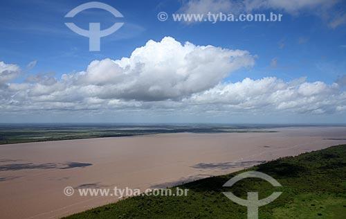 Assunto: Vista aérea do Rio Araguari / Local: Amapá (AP) - Brasil / Data: 05/2012