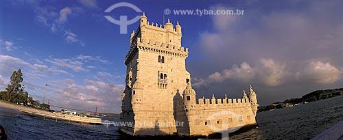 Assunto: Torre de Belém / Local: Distrito de Belém -  Lisboa - Portugal - Europa / Data: 10/2012