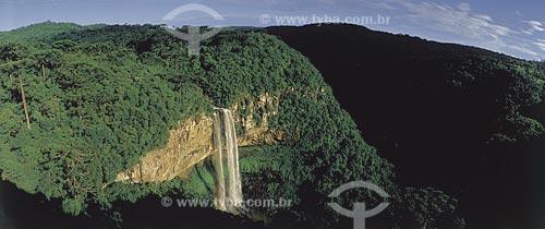 Assunto: Vista da Cascata do Caracol / Local: Canela - Rio Grande do Sul (RS) - Brasil / Data: 10/2009