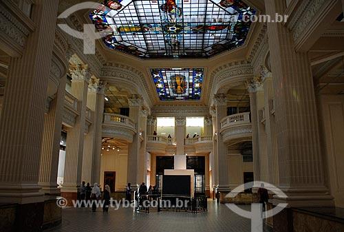 Assunto: Interior do Santander Cultural (1931) / Local: Porto Alegre - Rio Grande do Sul (RS) - Brasil / Data: 11/2011