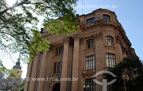 Assunto: Fachada do Santander Cultural (1931) / Local: Porto Alegre - Rio Grande do Sul (RS) - Brasil / Data: 11/2011