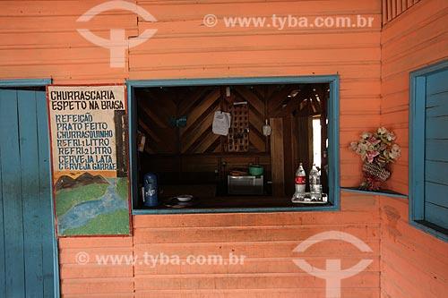 Assunto: Pequeno bar próximo à Reserva Biológica Lago Piratuba / Local: Amapá (AP) - Brasil / Data: 05/2012
