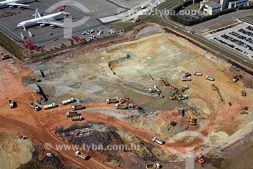 Assunto: Obras de expansão do Aeroporto Internacional Governador André Franco Montoro (Aeroporto de Cumbica) / Local: Guarulhos - São Paulo (SP) - Brasil / Data: 10/2012