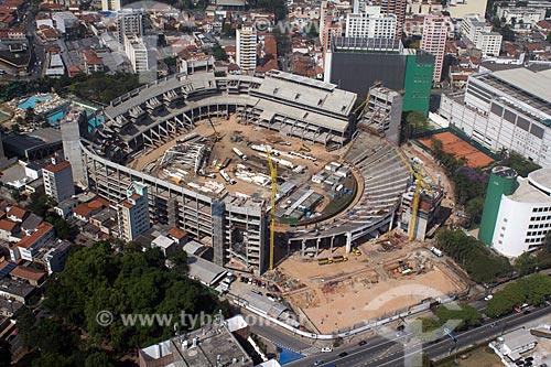 Assunto: Construção da Arena Palestra Itália - Estádio do Palmeiras / Local: São Paulo (SP) - Brasil / Data: 10/2012