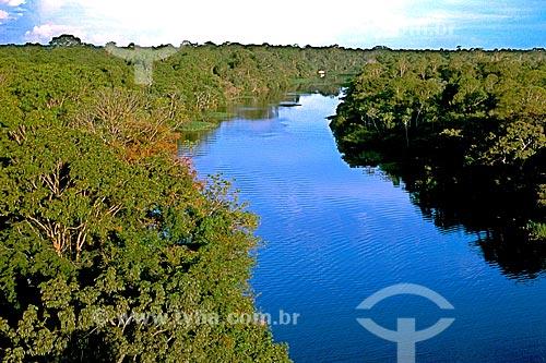 Assunto: Vista do rio Ariaú na Floresta Amazônica / Local: Iranduba - Amazonas (AM) - Brasil / Data: 04/2007