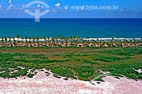 Assunto: Praia na Costa do Sauípe / Local: Costa do Sauípe - Bahia (BA) - Brasil / Data: 04/2007