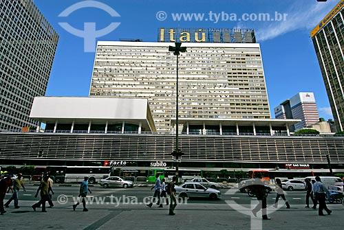 Assunto: Fachada do Condomínio Conjunto Nacional na Avenida Paulista / Local: São Paulo (SP) - Brasil / Data: 03/2007