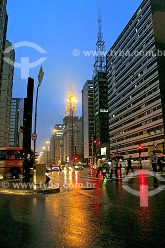 Assunto: Prédios na Avenida Paulista / Local: São Paulo (SP) - Brasil / Data: 07/2009