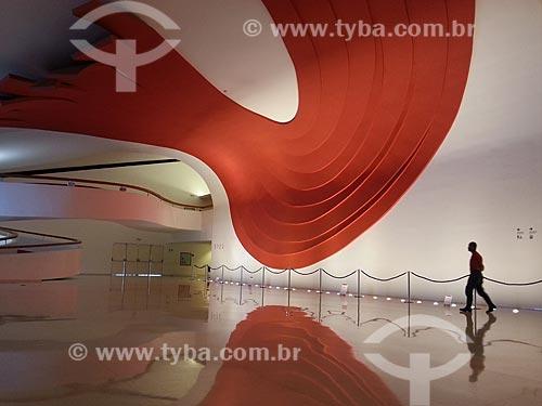 Assunto: Interior do Auditório Ibirapuera - foto feita com celular Samsung Galaxy S3 / Local: Parque do Ibirapuera - São Paulo (SP) - Brasil / Data: 12/2012