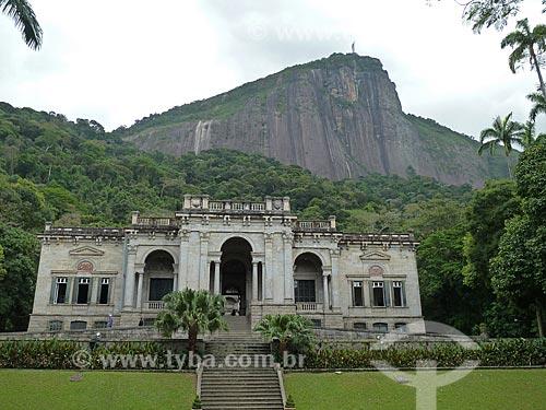 Assunto: Prédio da Escola de Artes Visuais do Parque Lage / Local: Jardim Botânico - Rio de Janeiro (RJ) - Brasil / Data: 11/2011