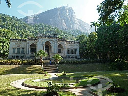 Assunto: Prédio da Escola de Artes Visuais do Parque Lage / Local: Jardim Botânico - Rio de Janeiro (RJ) - Brasil / Data: 03/2012