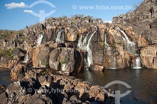 Assunto: Cachoeira Carioquinhas na Chapada dos Veadeiros / Local: Alto Paraíso de Goiás - Goiás (GO) - Brasil / Data: 07/2007