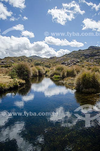 Assunto: Lago próximo ao Abrigo Rebouças no Parque Nacional do Itatiaia / Local: Engenheiro Passos - Rio de Janeiro (RJ) - Brasil / Data: 08/2012