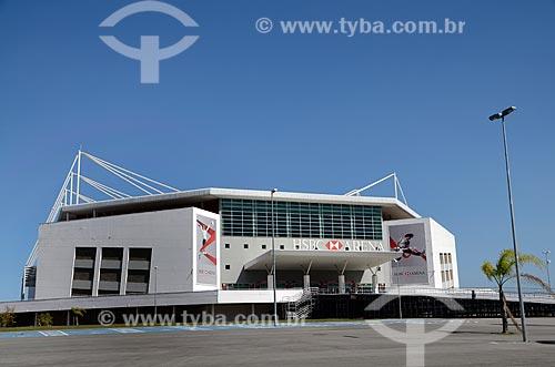 Assunto: Fachada do HSBC Arena / Local: Barra da Tijuca - Rio de Janeiro (RJ) - Brasil / Data: 08/2012
