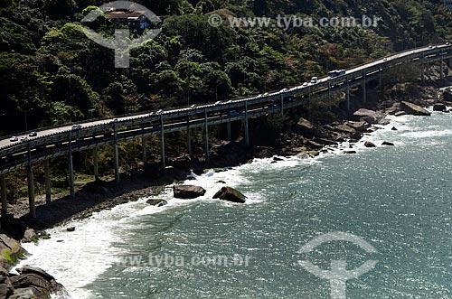 Assunto: Elevado do Joá (1972) - também conhecido como Elevado das Bandeiras / Local: Joá - Rio de Janeiro (RJ) - Brasil / Data: 08/2012