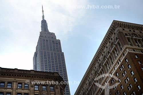 Assunto: Prédios de Manhattan com o Empire State Building ao fundo / Local: Manhattan - Nova Iorque - Estados Unidos - América do Norte / Data: 06/2011