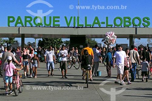 Assunto: Entrada do Parque Villa-Lobos / Local: Alto dos Pinheiros - São Paulo (SP) - Brasil / Data: 08/2009