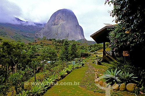 Assunto: Pedra Azul no Parque Estadual da Pedra Azul / Local: Domingos Martins - Espírito Santo (ES) - Brasil / Data: 1988