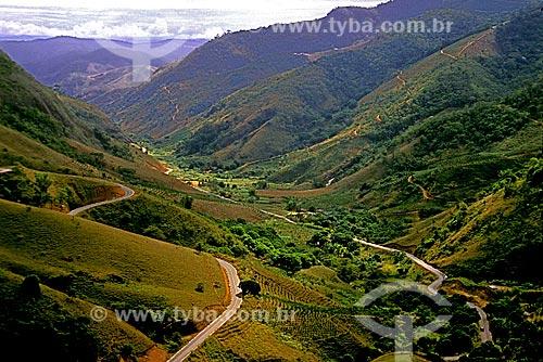 Assunto: Vale no Parque Estadual da Pedra Azul / Local: Domingos Martins - Espírito Santo (ES) - Brasil / Data: 1988