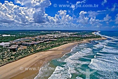 Assunto: Construção de complexo hoteleiro Costa do Sauípe / Local: Costa do Sauípe - Bahia (BA) - Brasil / Data: 1999