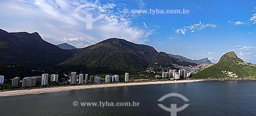 Assunto: Vista aérea de São Conrado  / Local: São Conrado - Rio de Janeiro (RJ) - Brasil / Data: 12/2012