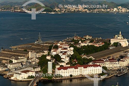Assunto: Vista aérea da Ilha das Cobras / Local: Rio de Janeiro (RJ) - Brasil / Data: 12/2012