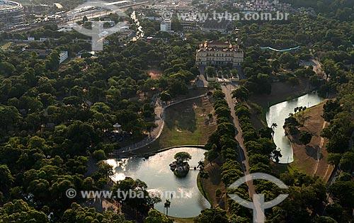 Assunto: Vista aérea da Quinta da Boa Vista / Local: São Cristovão - Rio de Janeiro (RJ) - Brasil / Data: 12/2012
