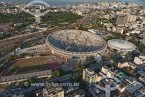 Assunto: Reforma do Estádio Jornalista Mário Filho - também conhecido como Maracanã - para a Copa do Mundo de 2014 / Local: Rio de Janeiro (RJ) - Brasil / Data: 12/2012