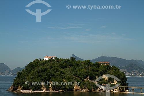 Assunto: Vista da Ilha da Boa Viagem com a Capela de Nossa Senhora da Boa Viagem (Século XVIII) / Local: Boa Viagem - Niterói - Rio de Janeiro (RJ) - Brasil / Data: 12/2012