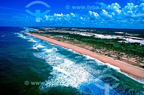 Assunto: Praia na Costa do Sauípe / Local: Costa do Sauípe - Bahia (BA) - Brasil / Data: 1999