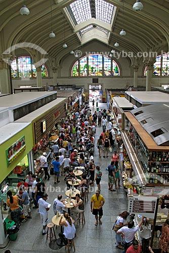 Assunto: Pessoas no Mercado Municipal Paulistano / Local: Sé - São Paulo (SP) - Brasil / Data: 02/2009