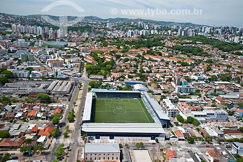 Assunto: Vista aérea do Estádio Passo DAreia - estádio do Esporte Clube São José / Local: Santa Maria Goretti - Porto Alegre - Rio Grande do Sul (RS) - Brasil / Data: 12/2012