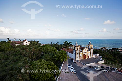 Assunto: Vista geral da Igreja de São Salvador do Mundo - também conhecida como Igreja da Sé (século XVI) / Local: Olinda - Pernambuco (PE) - Brasil / Data: 01/2013