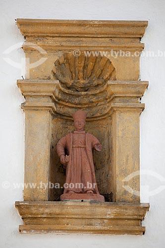 Assunto: Imagem de São Damião - Igreja dos Santos Cosme e Damião (1535) - considerada a igreja mais antiga do Brasil / Local: Igarassu - Pernambuco (PE) - Brasil / Data: 01/2013