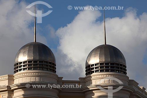 Assunto: Torres do Caixa Cultura Recife (1912) / Local: Recife - Pernambuco (PE) - Brasil / Data: 01/2013