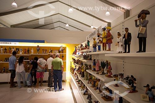 Assunto: Exposição de artesanato no Centro de Artesanato de Pernambuco (CAPE) / Local: Recife - Pernambuco (PE) - Brasil / Data: 01/2013