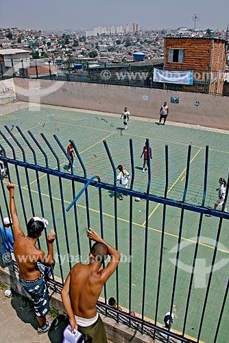 Assunto: Jogo de futsal em escola municipal no bairro Vila Brasilândia / Local: Vila Brasilândia - São Paulo (SP) - Brasil / Data: 12/2007