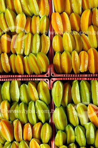 Assunto: Carambolas prontas para a comercialização / Local: Cândido Rodrigues - São Paulo (SP) - Brasil / Data: 01/2013