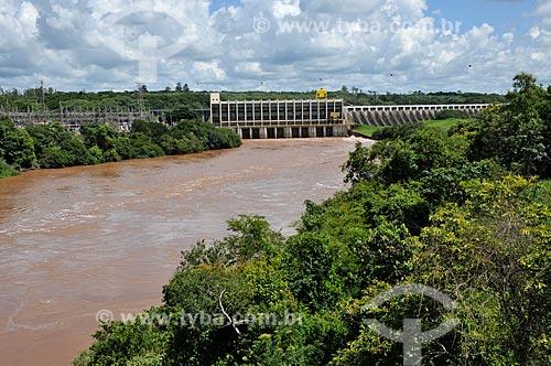 Assunto: Usina Hidrelétrica de Salto Grande - divisa entre São Paulo e Paraná / Local: Salto Grande - São Paulo (SP) - Brasil / Data: 01/2013