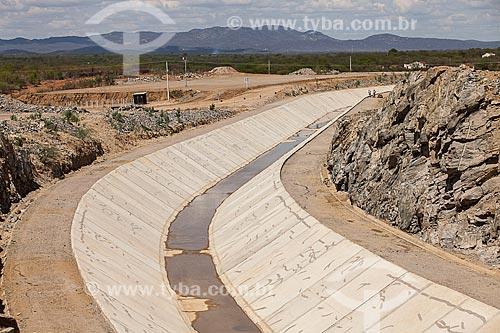 Assunto: Projeto Integração do Rio São Francisco com as bacias hidrográficas do Nordeste Setentrional - Lote 11 / Local: Custódia - Pernambuco (PE) - Brasil / Data: 01/2013